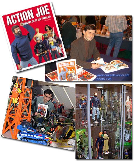 Action Joe du livre au web